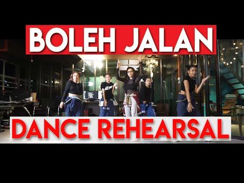 ZIZI KIRANA MENARI! Boleh Jalan (Dance Rehearsal)