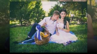 Свадебное слайд-шоу Никиты и Альбины. Старобельск