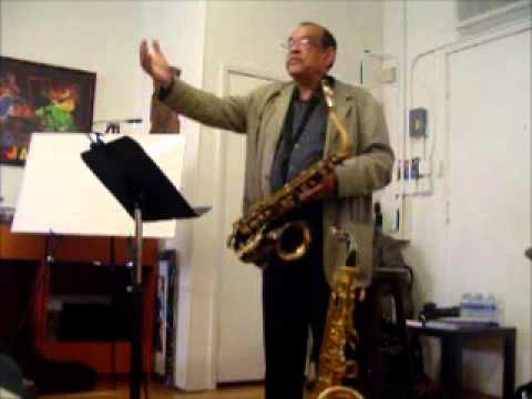 Ernie Watts on melody and improvisation.wmv