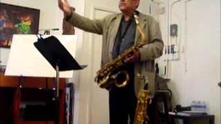 Ernie Watts on melody and improvisation.wmv