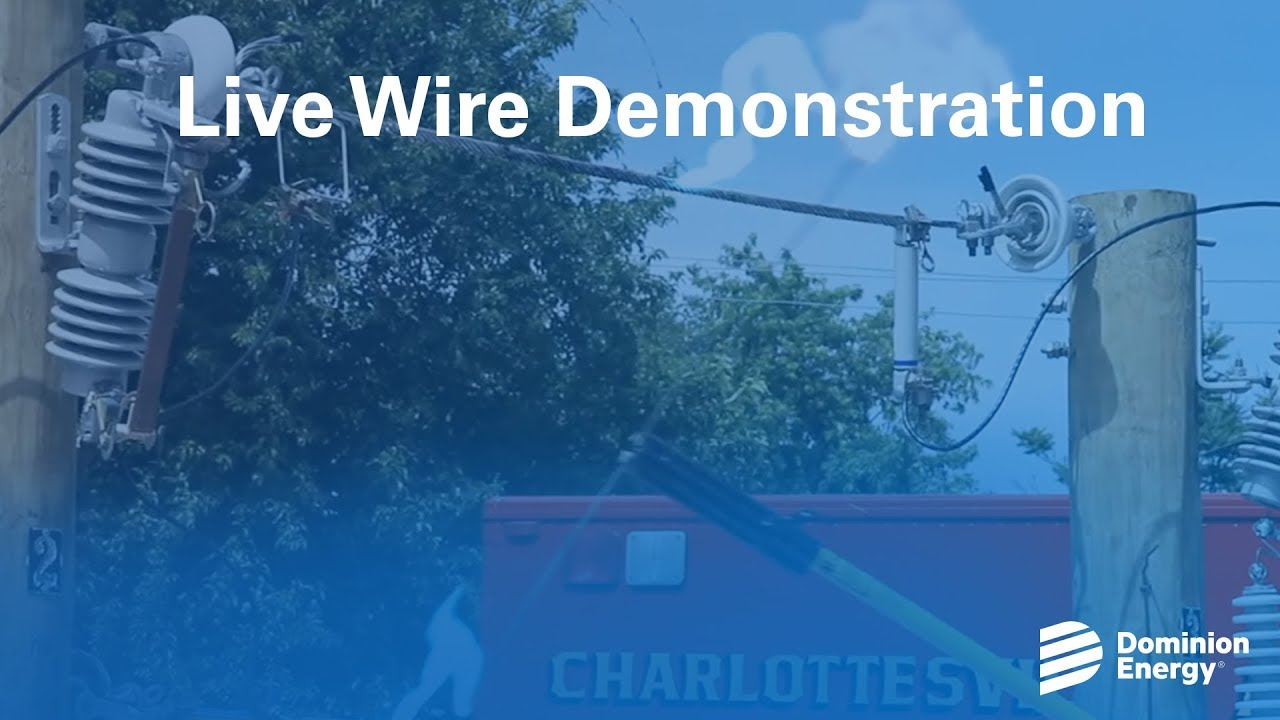 Live Wire Demonstration - YouTube