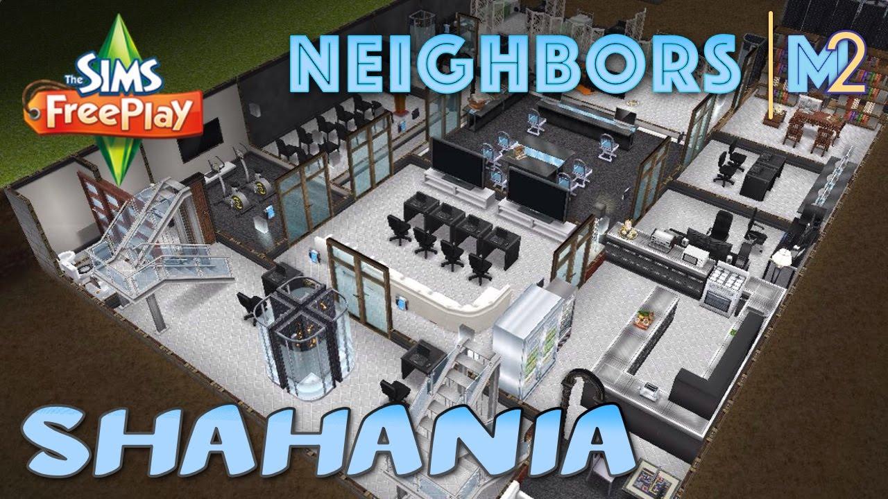 Sims Freeplay Shahania S Hotel Spy Hq Neighbor S Original House Design By Make2