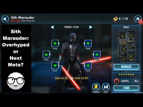 Is the Sith Marauder Worth the Hype?