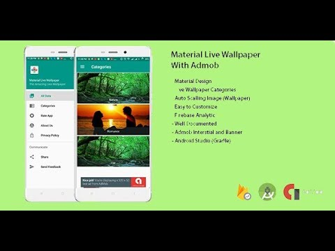 Android Studio Wallpaper App Source Code Download Youtube