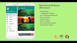 Android Studio Wallpaper App Source Code Download