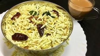 இப்படி மொறு  மொறு கார பொரி செய்துவையுங்க டீயுடன்  சாப்பிட சூப்பராக  இருக்கும்/ Kara pori