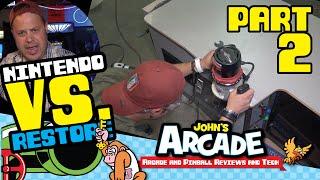 Nintendo Vs. Unisystem Arcade Restore - Part #2 - Joystick Rebuild, Bondo Cabinet Repair