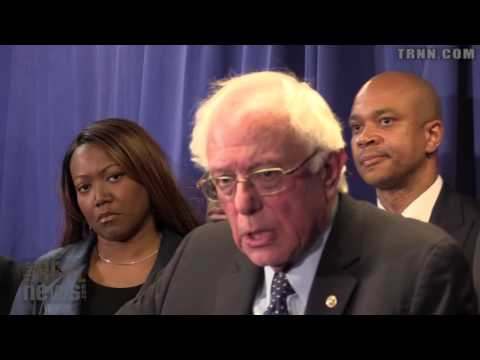 Bernie Sanders Tours Epicenter of the Baltimore Uprising