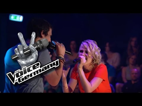 I Hate U, I Love U - Gnash | Laura vs. Fabian Cover | The Voice of Germany 2016 | Battles