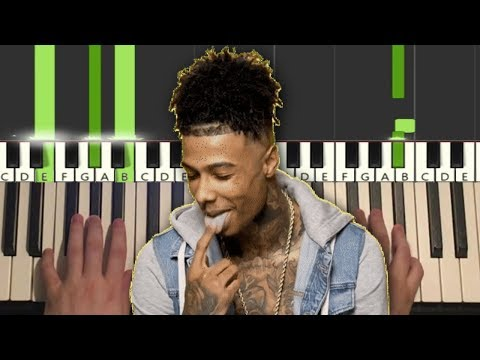 Blueface – Thotiana Remix ft. YG (Piano Tutorial Lesson)