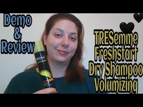 tresemme-fresh-start-dry-shampoo-volumizing,-review-and-demo