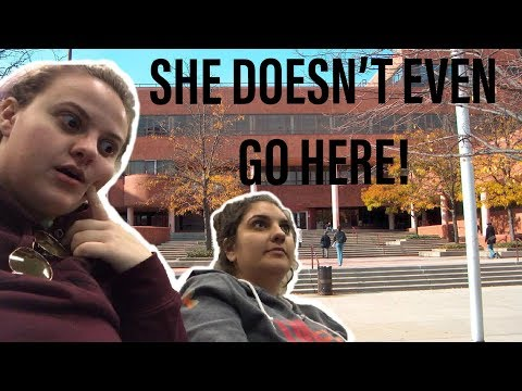 HOW TO GET A FREE EDUCATION (sneaking into college challenge)