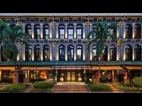 SIX SENSES SINGAPORE: Duxton & Maxwell heritage hotels (full tour)