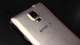Samsung GALAXY Note 4 bronze gold color SM-N910H