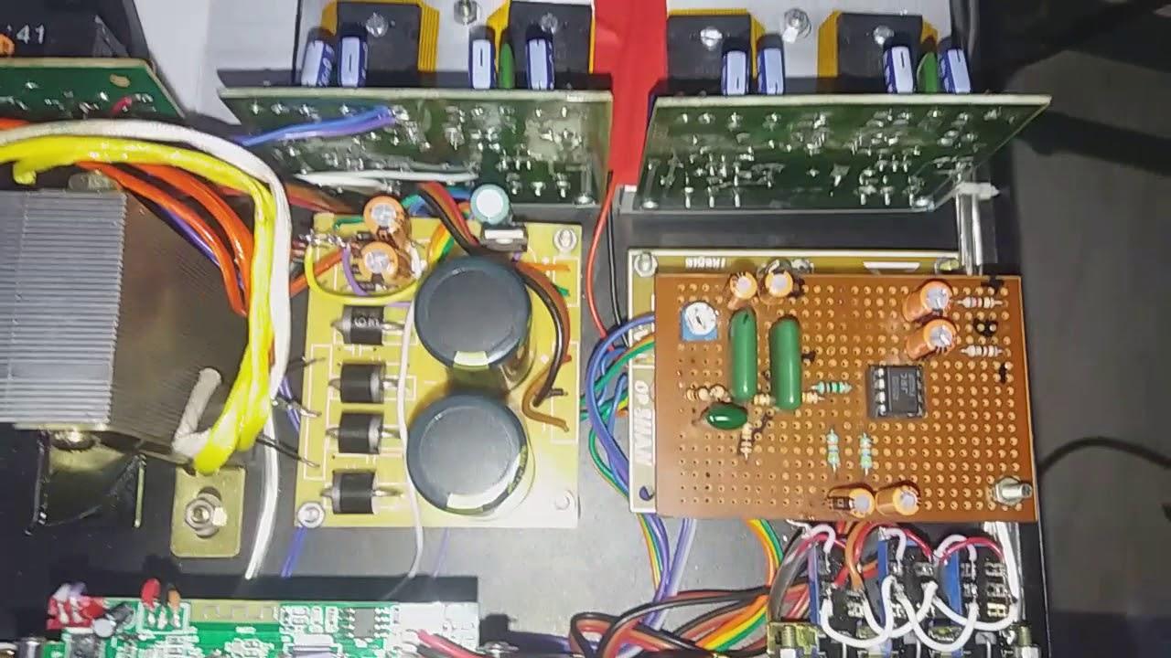 21 Mosfet Stk Amplifier 500w Youtube Audio Scheme