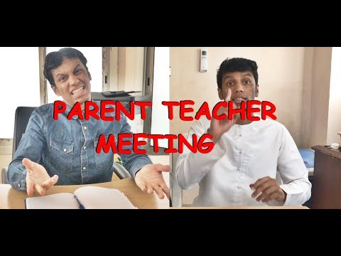 Zubair Sarookh -  PARENT TEACHER MEETING