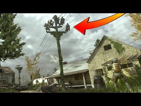WORK AS A TEAM BUT DON'T HIDE AS A TEAM!!! HIDE N' SEEK ON COD 4 REMASTERED!!!