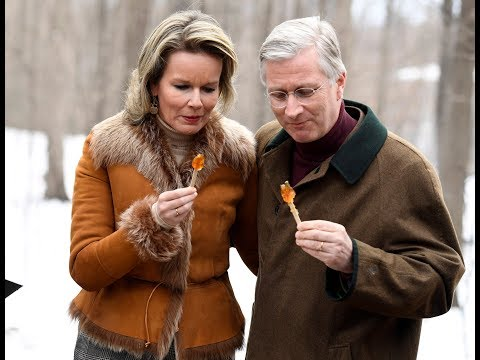 Belgian King Philippe and Queen Mathilde visit Canada