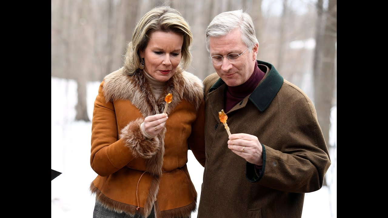 Belgian King Philippe and Queen Mathilde visit Canada #1
