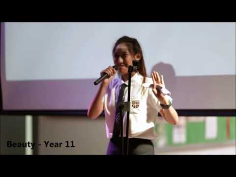 'If I ruled the world' - Speeches by Secondary Students