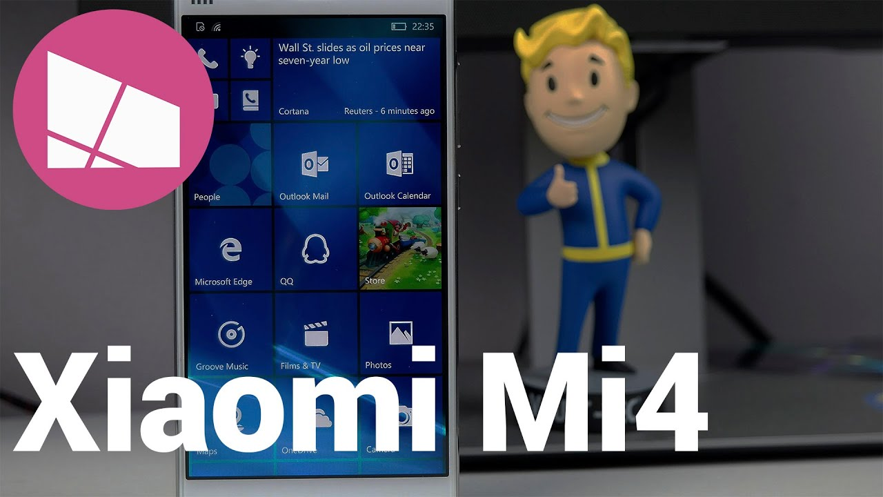 Hands On With The Xiaomi Mi4 Running Windows 10 Mobile