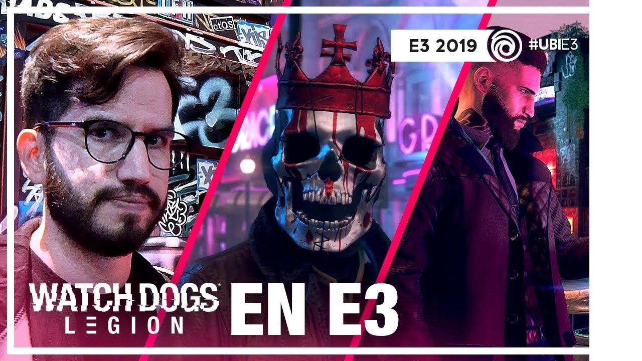 Permadeath, Robleis, Helen, hacking y más en Watch Dogs Legion desde E3