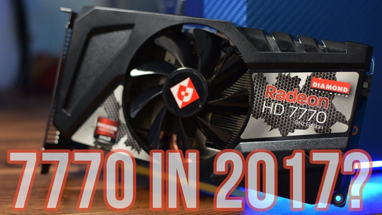 AMD Radeon 7770 vs PUBG & More - 1GB Vram Enough in 2017?