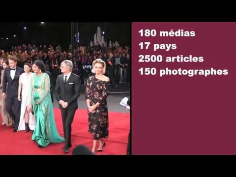 "FESTIVAL INTERNATIONAL DU FILM (Marrakech 2016) : SNAPSHOT ""Red Carpet"""
