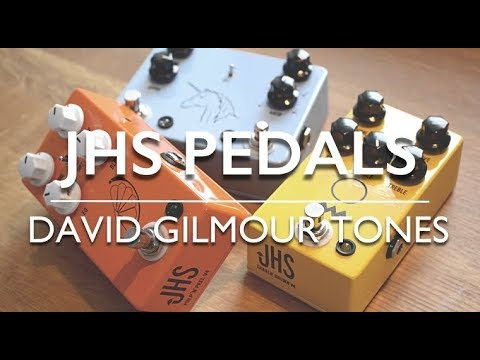 jhs pedals david gilmour tones youtube. Black Bedroom Furniture Sets. Home Design Ideas