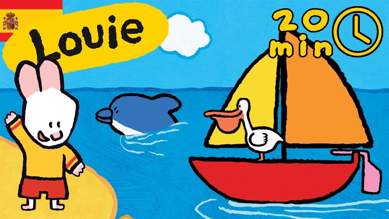 Louie Dibujame El Mar Compilación Dibujos Animados Para Niños