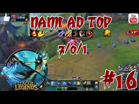 NAMI AD TOP / League Of Legends #16