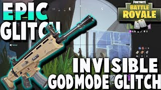 *NEW* GODMODE GLITCH UNDER THE WATERFALL! *INSANE GODMODE* GLITCH / FORTNITE BATTLE ROYALE