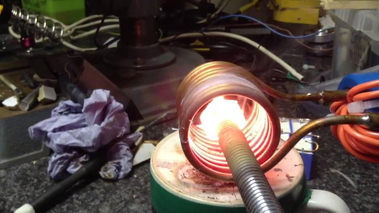 Series Resonant Induction Heater V3 Vs Bolt Youtube Heating Iii With Igbt