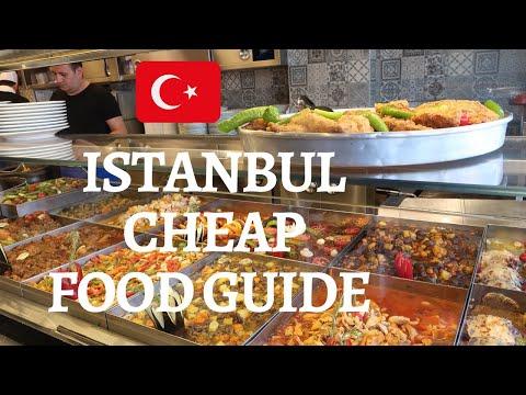 ISTANBUL CHEAP FOOD GUIDE   Best Budget Food in Istanbul   Lokantas, Pide, Balik Ekmek, Lokum & more