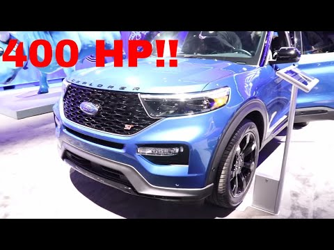 2020 Ford Explorer Platinum ST