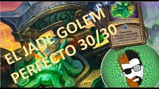 Perfect 30/30 Jade Golem - Druid //HearthStone//