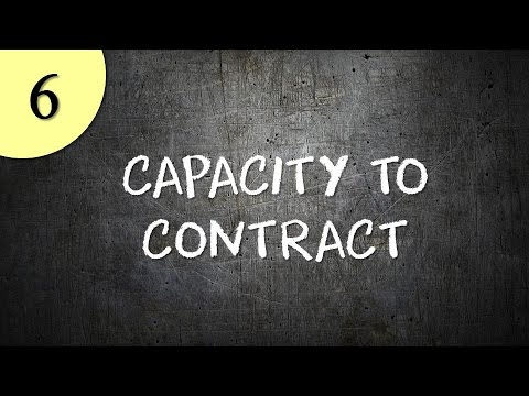 Capacity to Contract from YouTube · Duration:  9 minutes 54 seconds