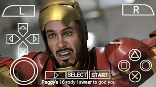 Download Iron Man 2 PPSSPP Game For Android