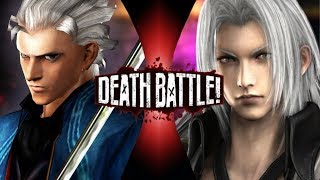 Death Battle Vergil vs Sephiroth Hype thumbnail