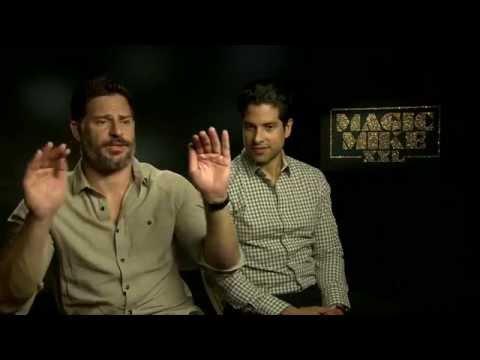 "Interview with Joe Manganiello & Adam Rodriguez for Magic Mike XXL ""Buzz"" OTE TV"
