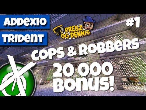 Cops & Robbers episode 1 (20 000 Bonus med Prebz og Dennis)