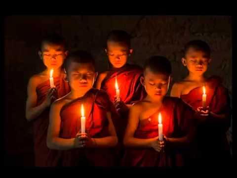 Mindful Meditation Music- Buddhist Monk Chanting Calming Mantra Relax Mind Body
