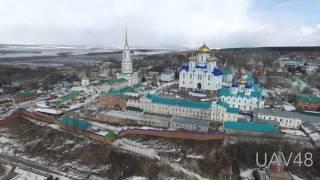 Полёт в Задонск: 2,5 км от трассы М4(Задонск – основан около 1610 года вокруг Задонского Рождество-Богородицкого мужского монастыря , население..., 2016-03-22T16:08:11.000Z)