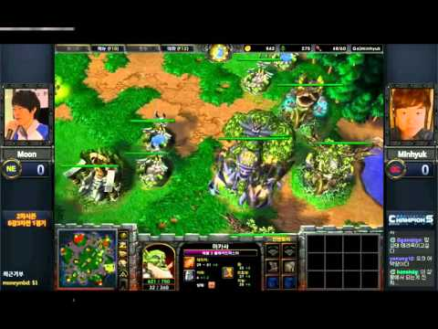 Twitch WarCraft 3 Champions League Moon Minhuyk 1 4