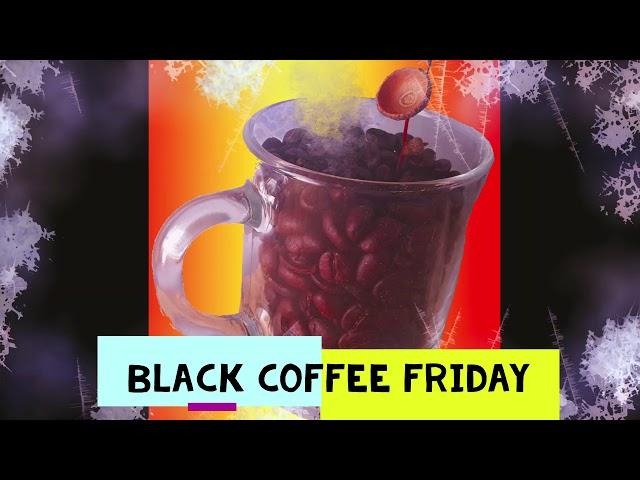 Black Coffee Friday hos Gourmetbönan!