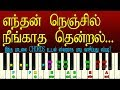 TAMIL FILM SONGS KEYBOARD NOTES/HOW TO PLAY KEYBOARD IN TAMIL / MUSIC CLASS IN TAMIL