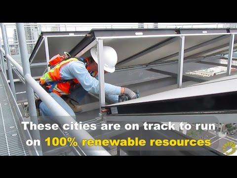 Cities with 100% Renewable Energy Goals