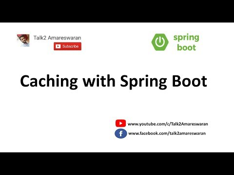 Caching data with Spring Boot | @Cacheable | @CacheEvict