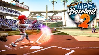 Super Mega Baseball 2 Beta - Full 9 Inning Game w/ Dramatic Ending!