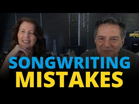 4 BIG Songwriting Mistakes & How to Avoid Them with Robin Frederick